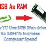 How To Use USB (Pen drive) As RAM To Increase Computer Speed