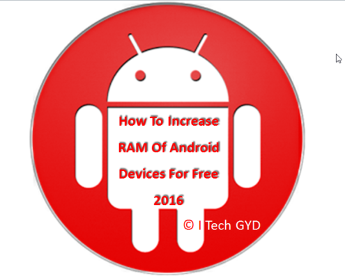 how to increase RAM of android device