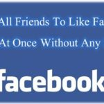 Invite All Friends To Like Facebook Page At Once Without Any Script