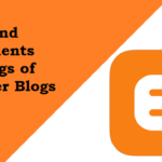 Post and Comments Settings of Blogger Blogs