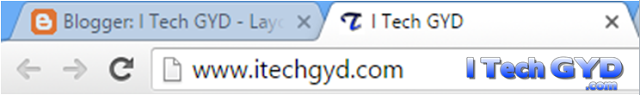 How To Add A Favicon To Blogger Blog?