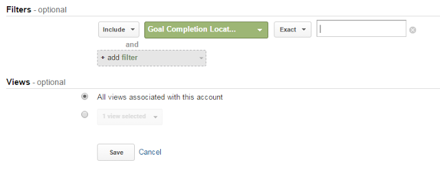 Filters and Views in Google Analytics Customization Tab