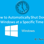 How to Automatically Shutdown Windows at a Specific Time