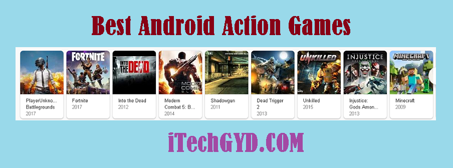 Best Android Action Games