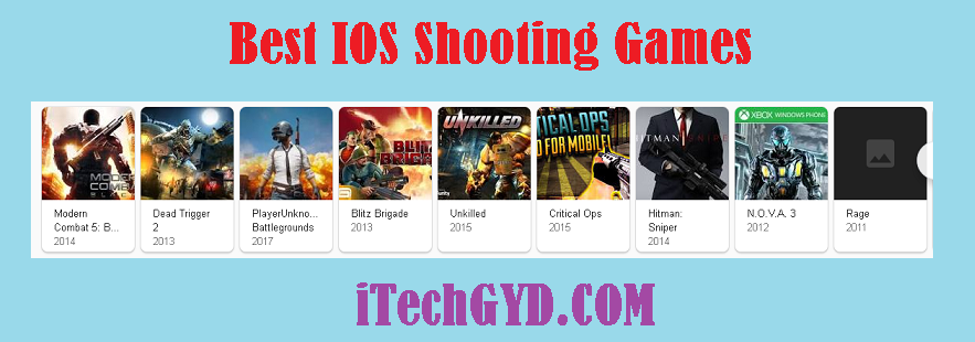 Best IOS Shooting Games