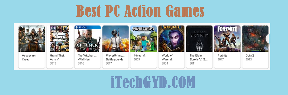 Best PC Action Games