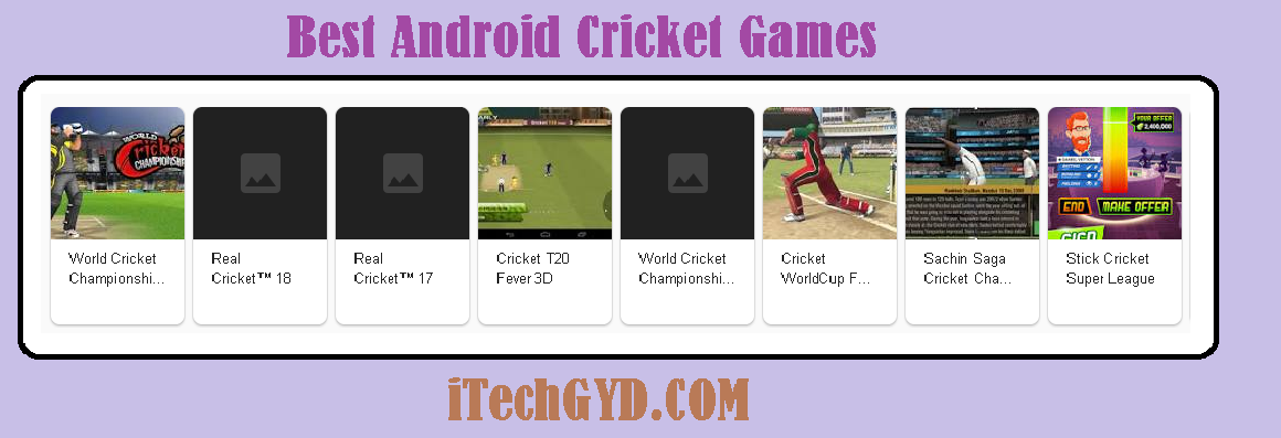 Best Android Cricket Games