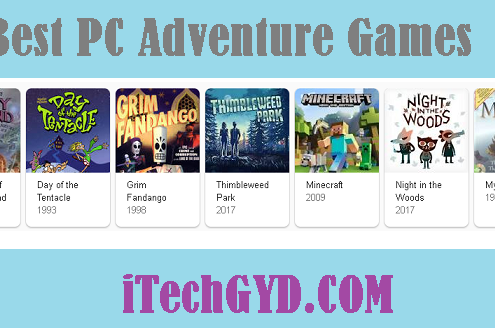 Best PC Adventure Games