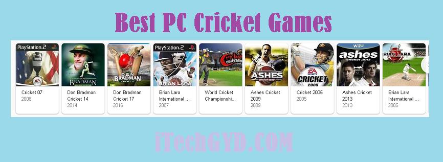 Best PC Cricket Games