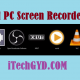 Best PC Screen Recorders