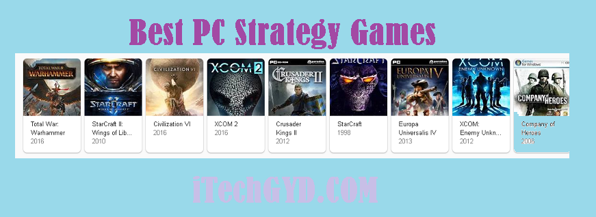 Best PC Strategy Games