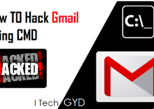 hack gmail using cmd