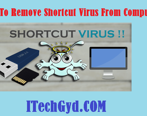 remove shortcut virus from computer