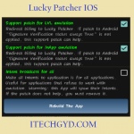 Lucky Patcher IOS Download Free for Iphone