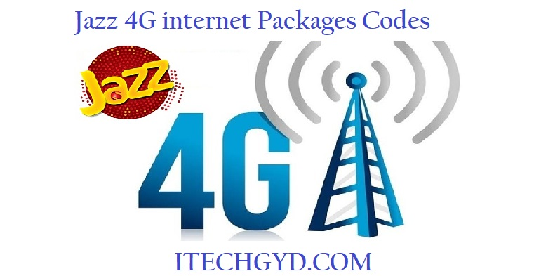 jazz 4g packages