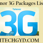 Telenor 3G Packages – Daily, Weekly & Monthly Internet Offers