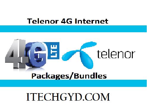 telenor 4g packages