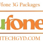 Ufone 3G Packages – Daily, Weekly & Monthly Internet Offers