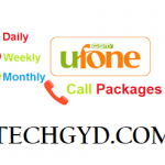 Ufone Call Packages – Daily, Weekly & Monthly Call Offers