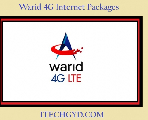 warid 4g packages