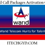 Warid Call Packages – Daily, Weekly & Monthly Call Offers