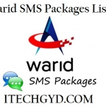 Warid SMS Packages – Daily, Weekly & Monthly Messages Bundles