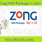 Zong SMS Packages – Daily, Weekly, Monthly Messages Offers