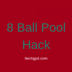 8 Ball Pool Hack APK for Android & IOS