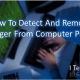 How To Detect And Remove Keylogger From Computer
